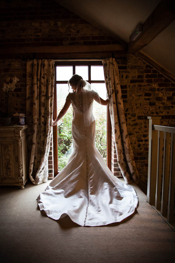 Upwaltham Barns Wedding | FitzGerald Photographic, justin alexander dress, winter wedding