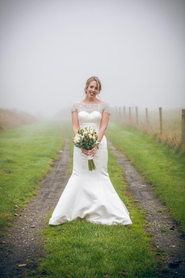 Upwaltham Barns Wedding | FitzGerald Photographic, winter wedding, winter bride