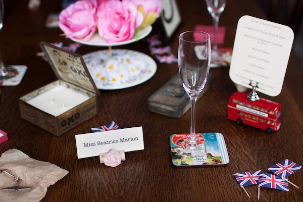 Victory theme, theme queen, wedding table kits