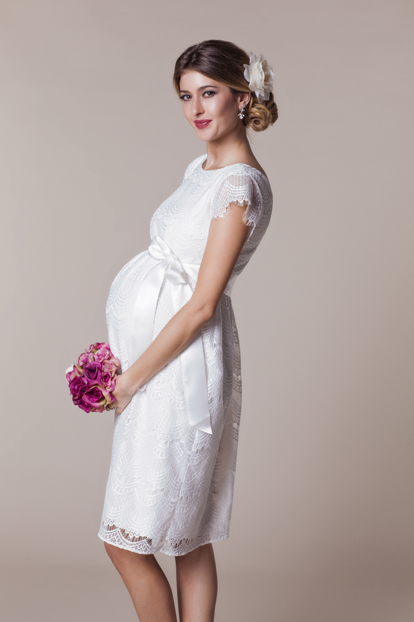 Spring Summer 2016 Maternity Wedding Dress Collection from Tiffany ...