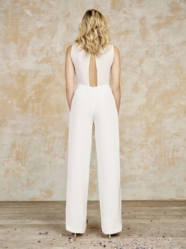 goodwin_back, House of Ollichon , bridal jumpsuits, bridal separates, luxury jumpsuits, luxury bridal jumpsuits