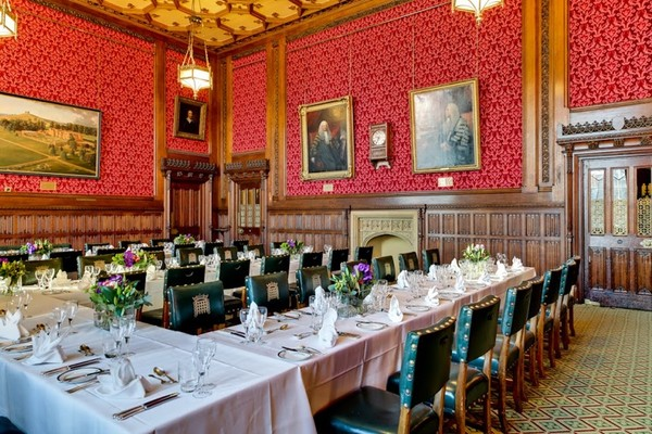 Getting married at the iconic houses of parliament in for Dining room c house of commons
