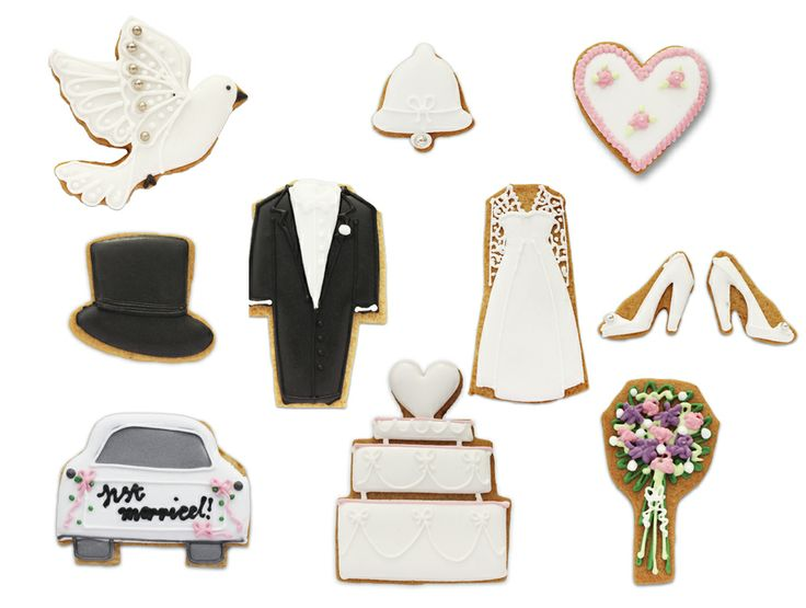 Selfridges Wedding Gifts: Beautiful Hand Iced Biscuits From Biscuiteers