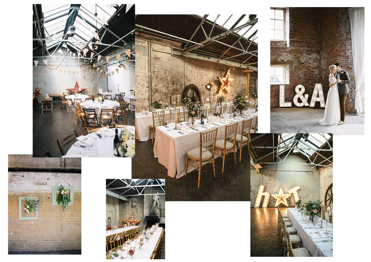 wedding venue, carmela weddings, urban minimalist wedding, urban wedding moodboard