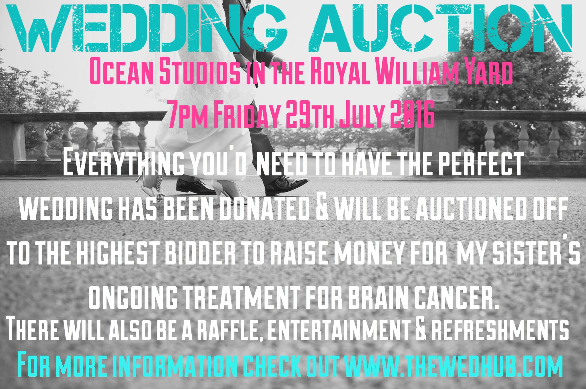 wedding auction, the wedding hub plymouth, brain cancer , MrsPandPs Sunday Morning Cuppa , Wedding Blog Catch up