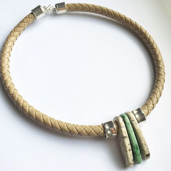 lark-and-lily-designs-leather-and-stone-bracelet