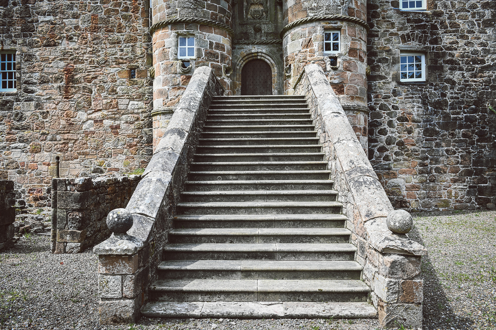 Rowallan-Castle-Tom-Cairns-Photography-Pronovias-Wedding-Dress-scottish-wedding-theme-cluedo-wedding-stationery (3)