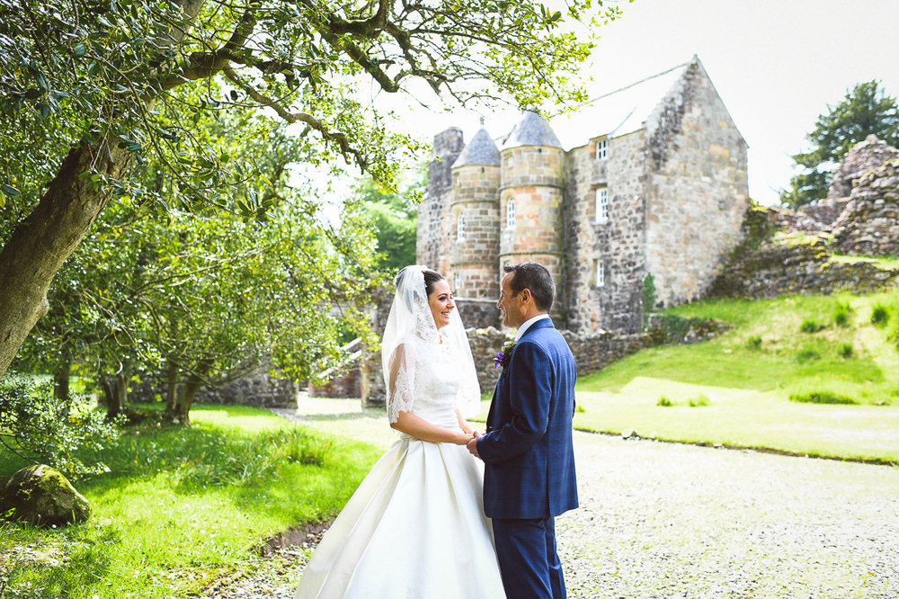 Rowallan-Castle-Tom-Cairns-Photography-Pronovias-Wedding-Dress-scottish-wedding-theme-cluedo-wedding-stationery (65)