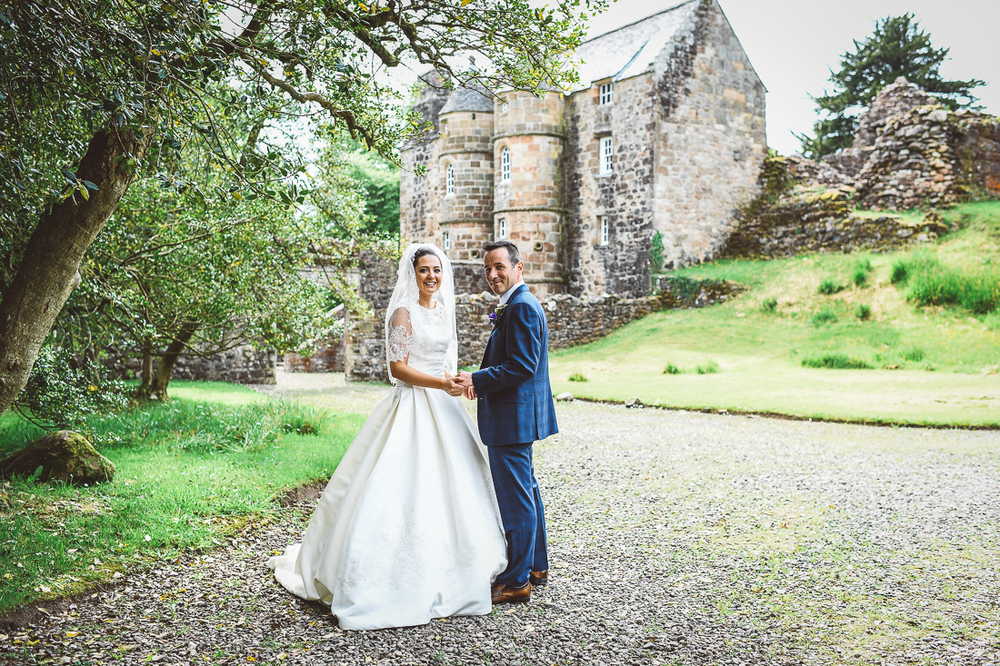 Rowallan-Castle-Tom-Cairns-Photography-Pronovias-Wedding-Dress-scottish-wedding-theme-cluedo-wedding-stationery, scottish wedding