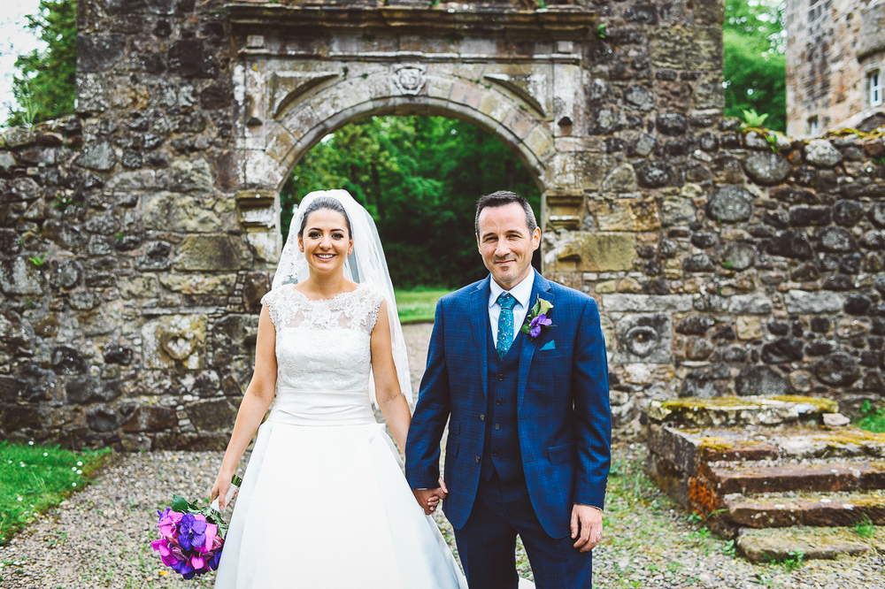 Rowallan-Castle-Tom-Cairns-Photography-Pronovias-Wedding-Dress-scottish-wedding-theme-cluedo-wedding-stationery (68)