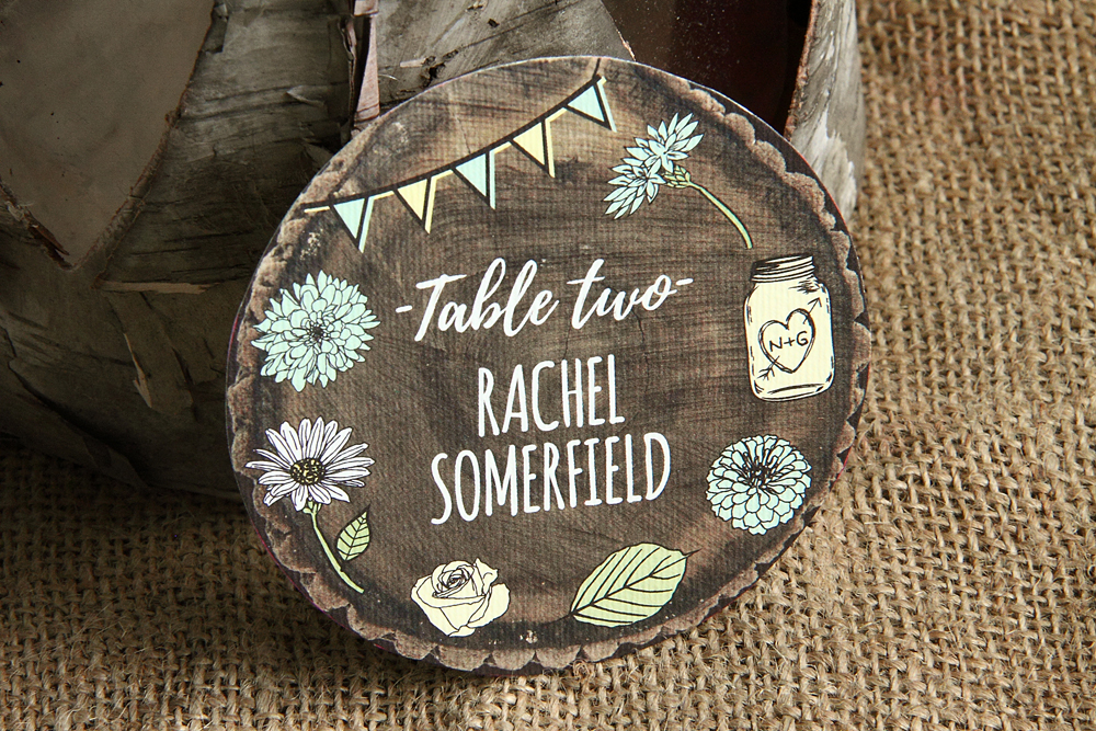 Whimsical Woodland Place Cards, wedding save the dates, wedding save the date magnets