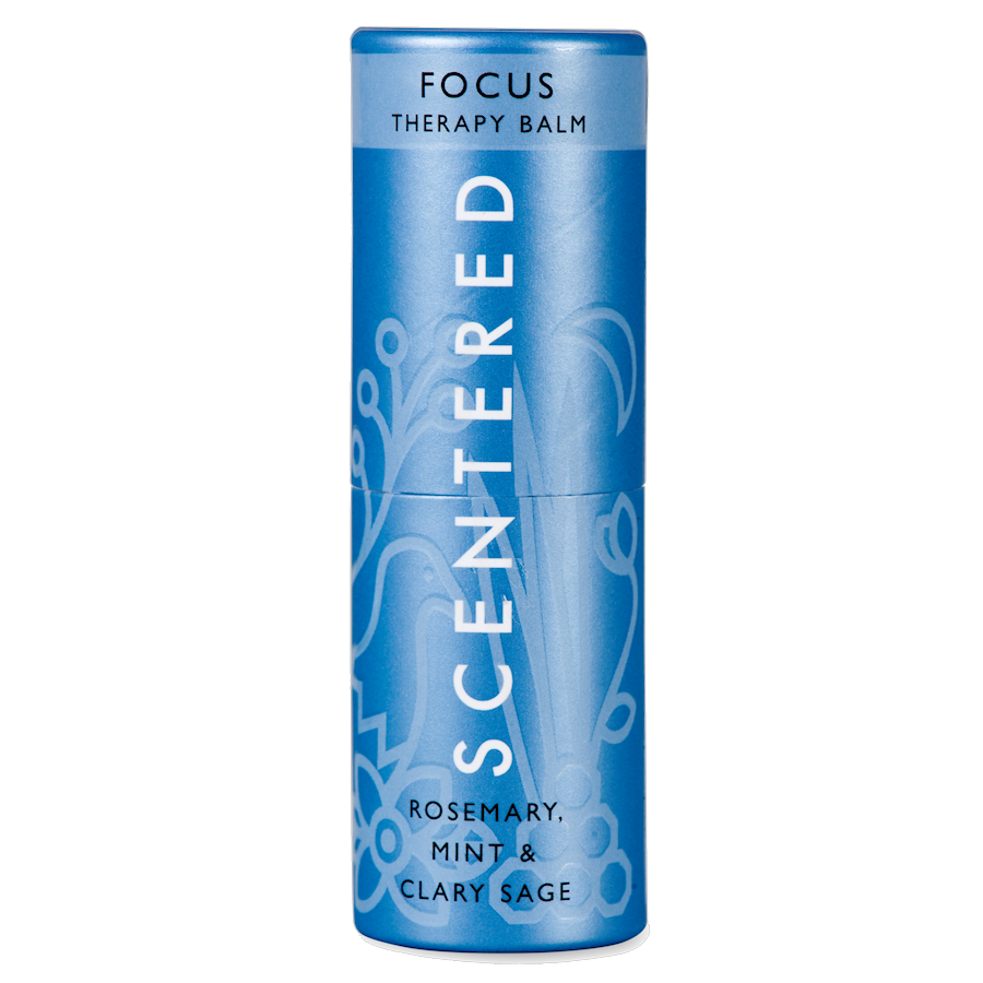 focus, scentered therapy balm