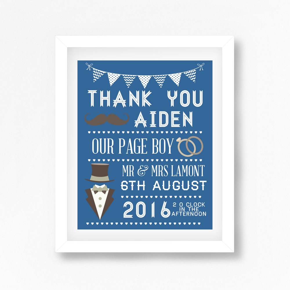 perfect little prints - personalised prints - wedding prints (6)