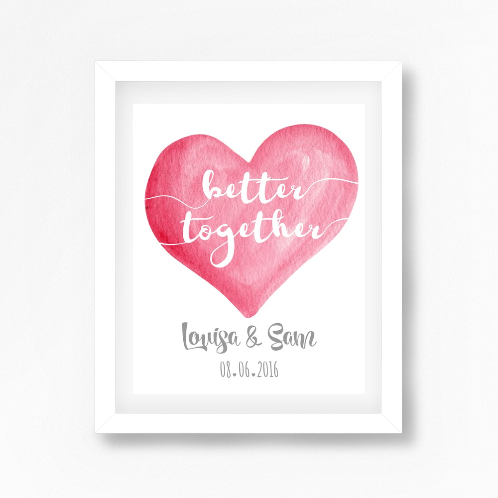perfect little prints - personalised prints - wedding prints (8)