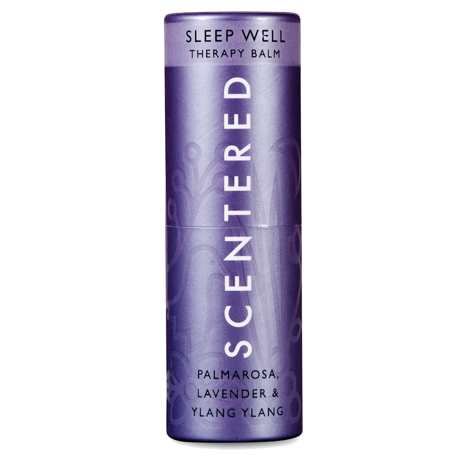 sleep-well, scentered fragrance balms