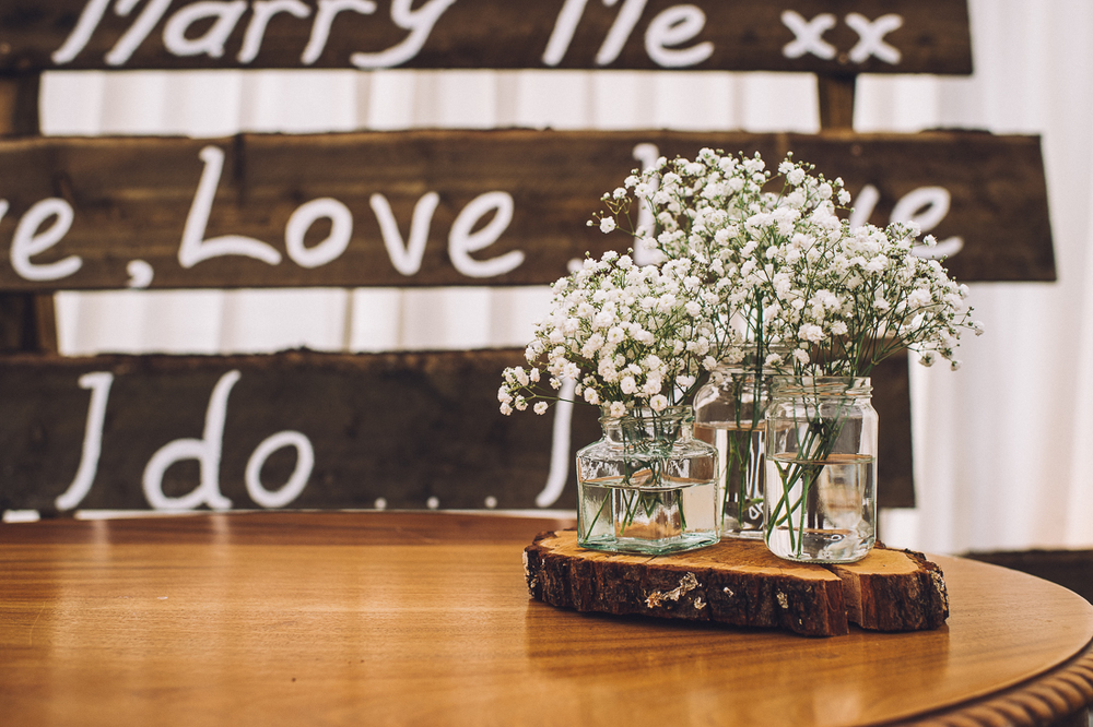 ayrshire wedding, rustic inspired wedding styling, tom cairns photography