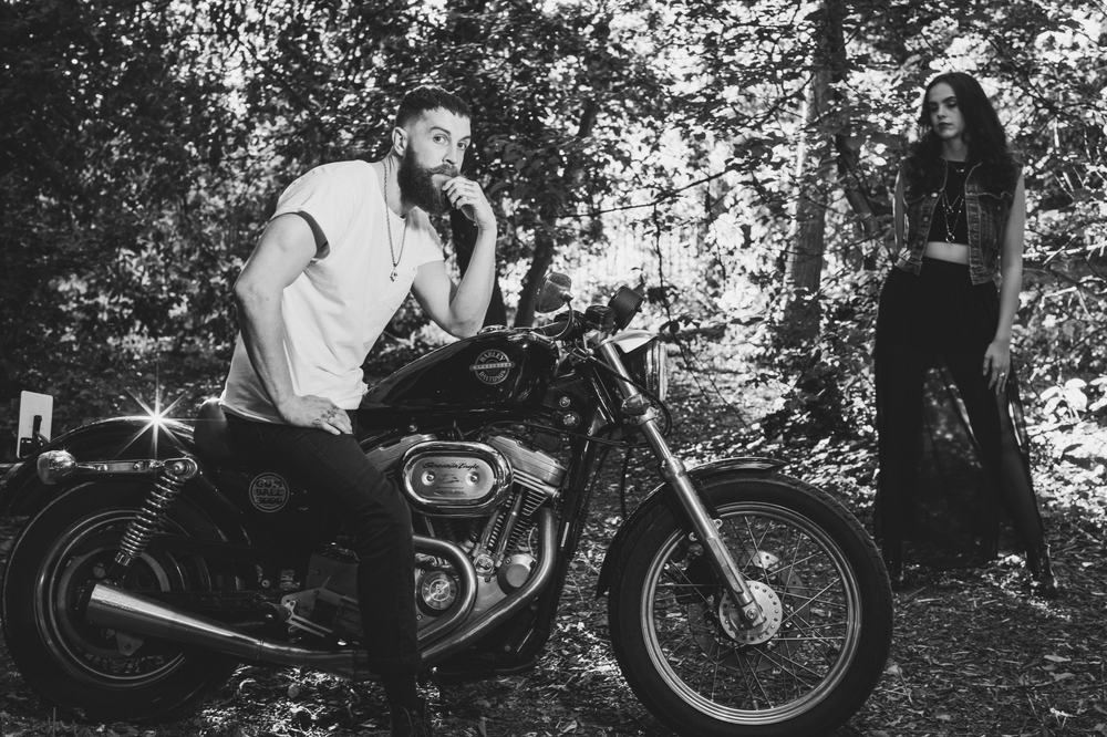Harley Davidson Couples shoot - Images by Xander Sandwell Photography