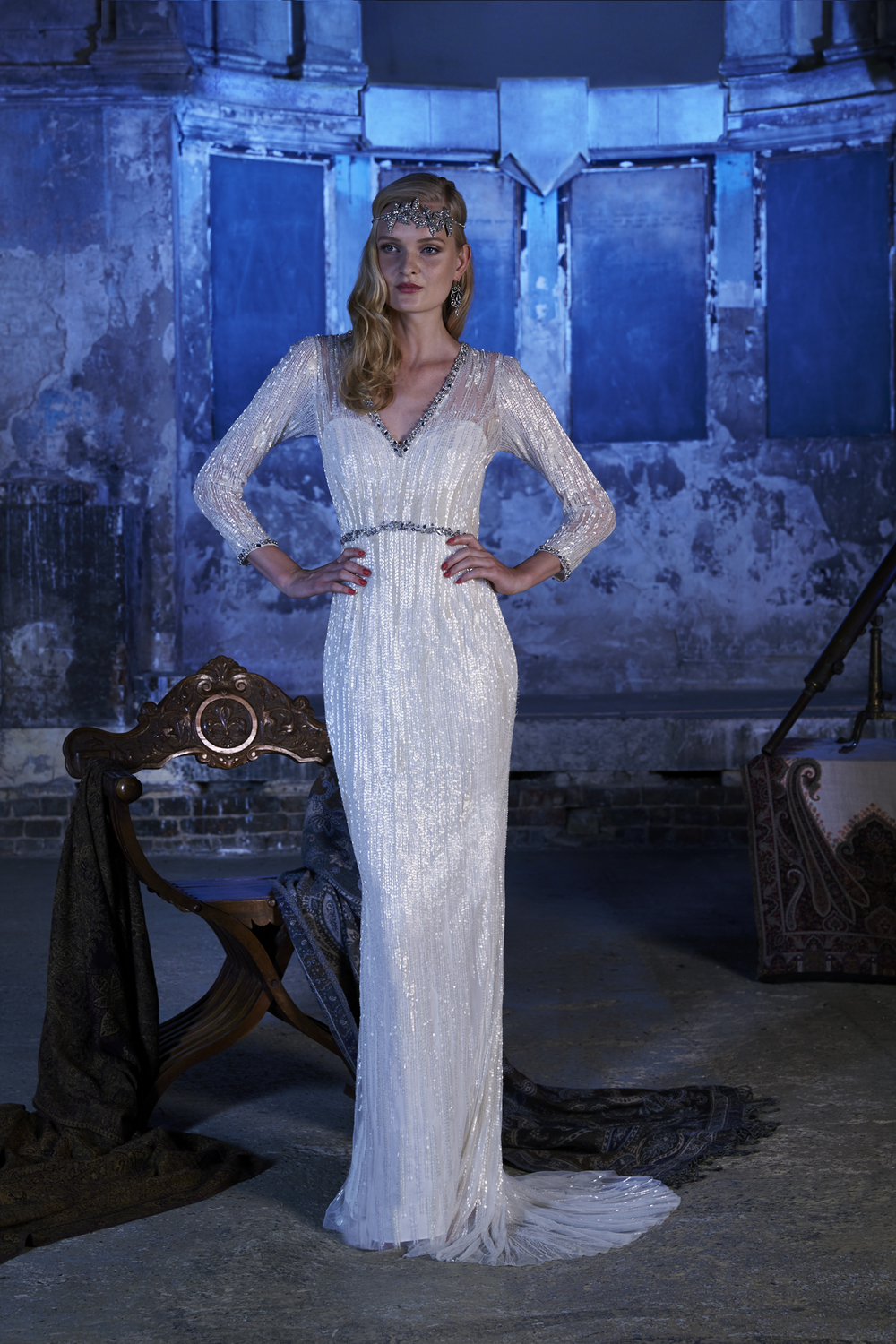atlantis-dress , Vintage inspired Wedding Dresses, 2017 Stardust Collection, Eliza Jane Howell , Images - Chris Dawes Photography
