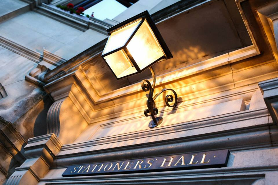 Stationers Hall, entrance, london wedding venue