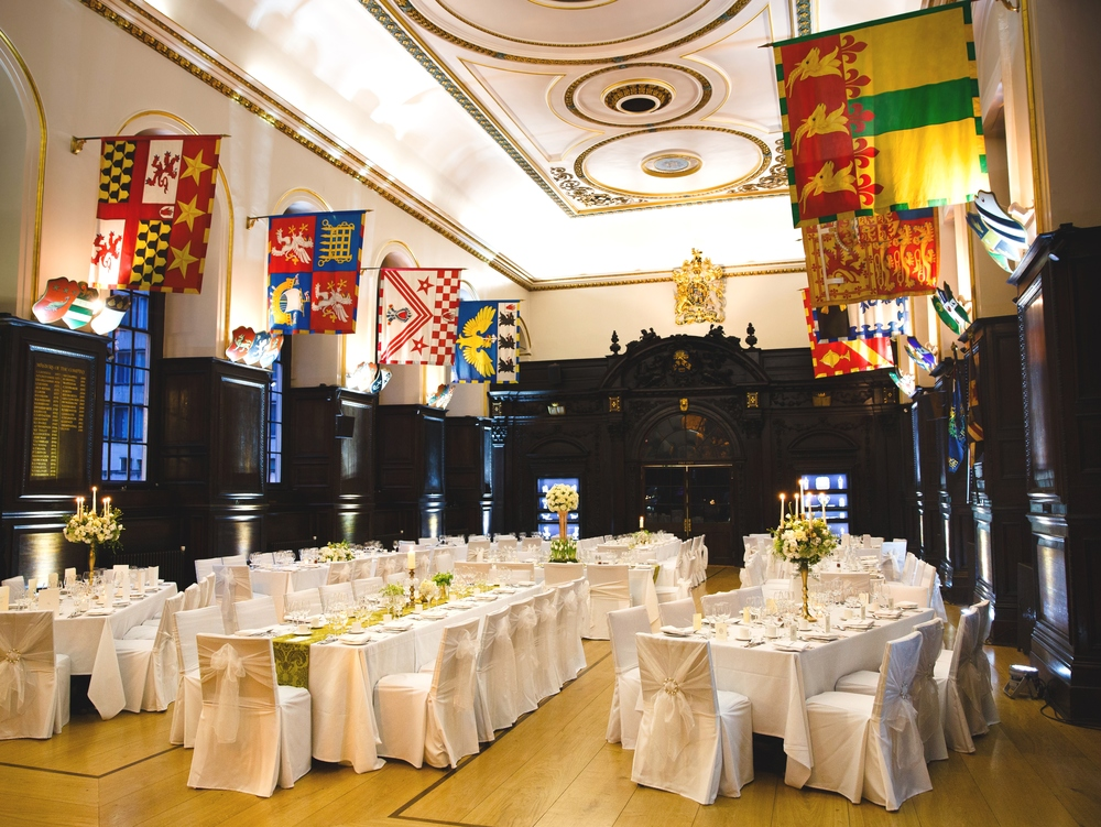 Stationers hall, london wedding venue, Image - David Jones Photography