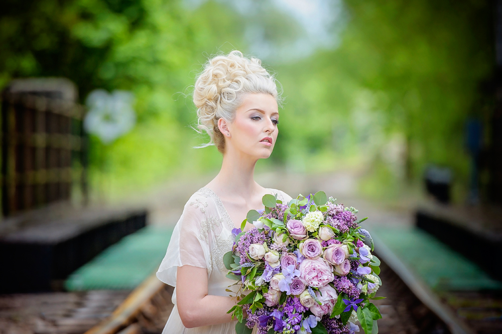 amber-tutton-model-pengelly-photography-colne-valley-railway-railway-bridal-shoot-1