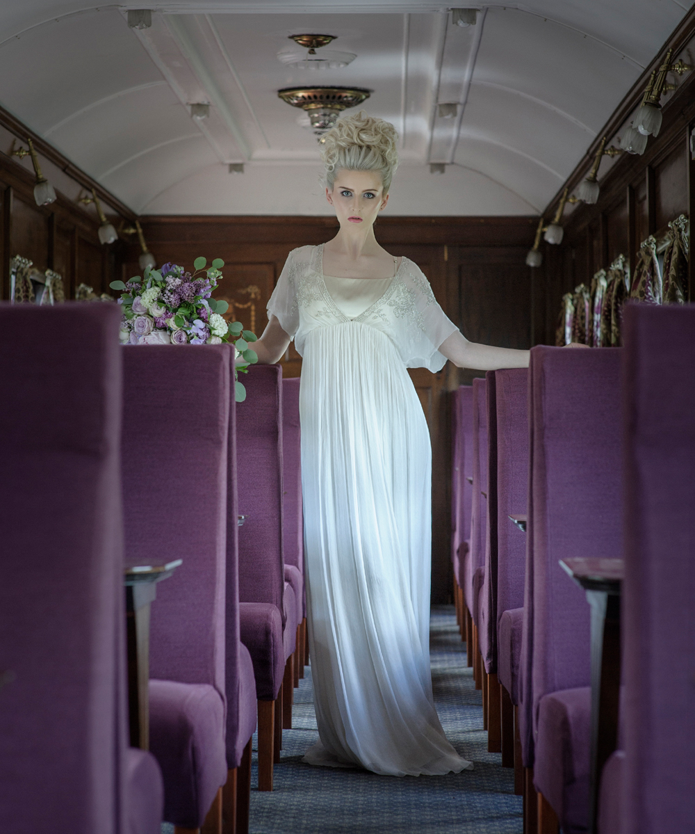 amber-tutton-model-pengelly-photography-colne-valley-railway-railway-bridal-shoot-18