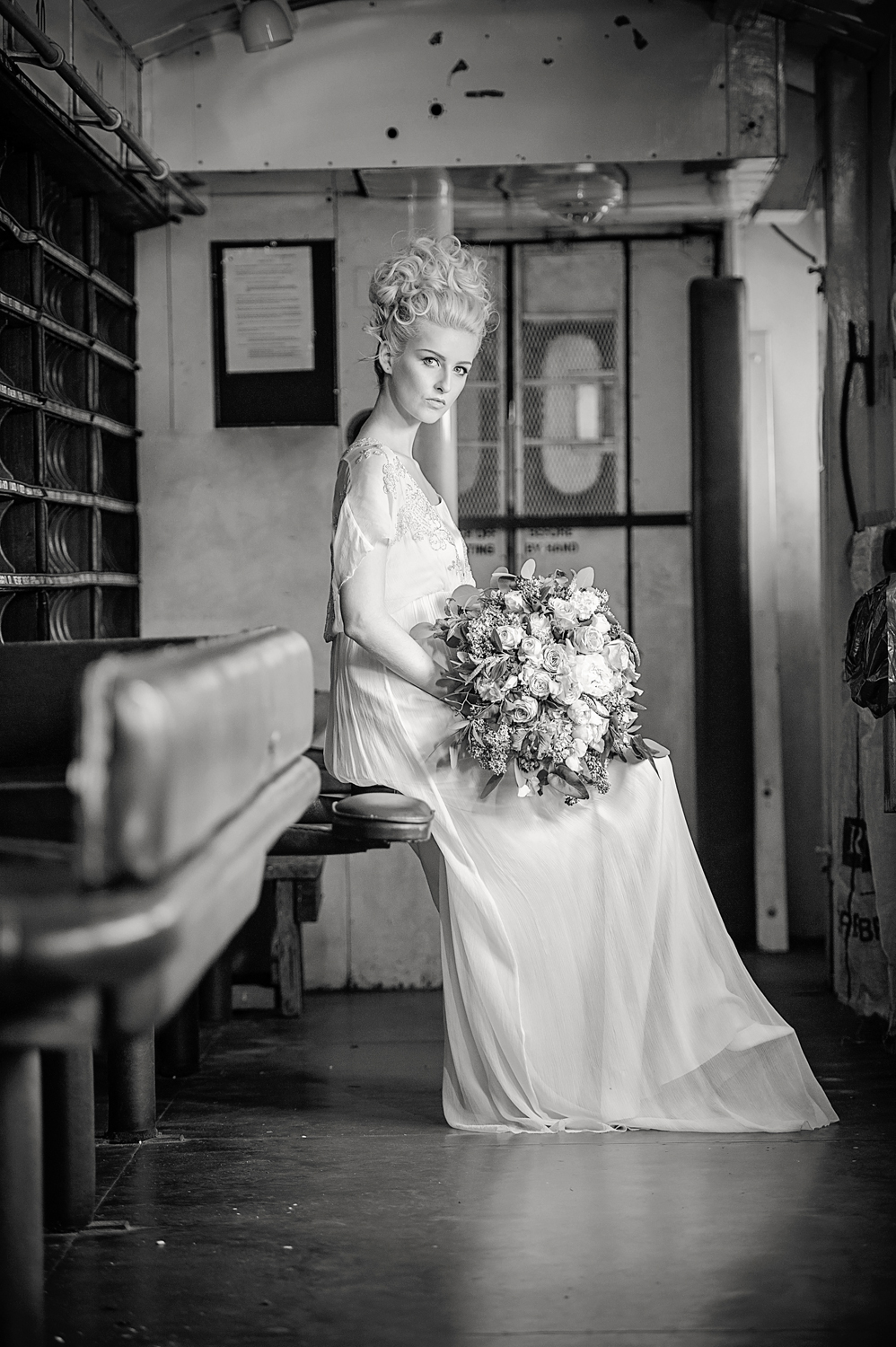 amber-tutton-model-pengelly-photography-colne-valley-railway-railway-bridal-shoot-3