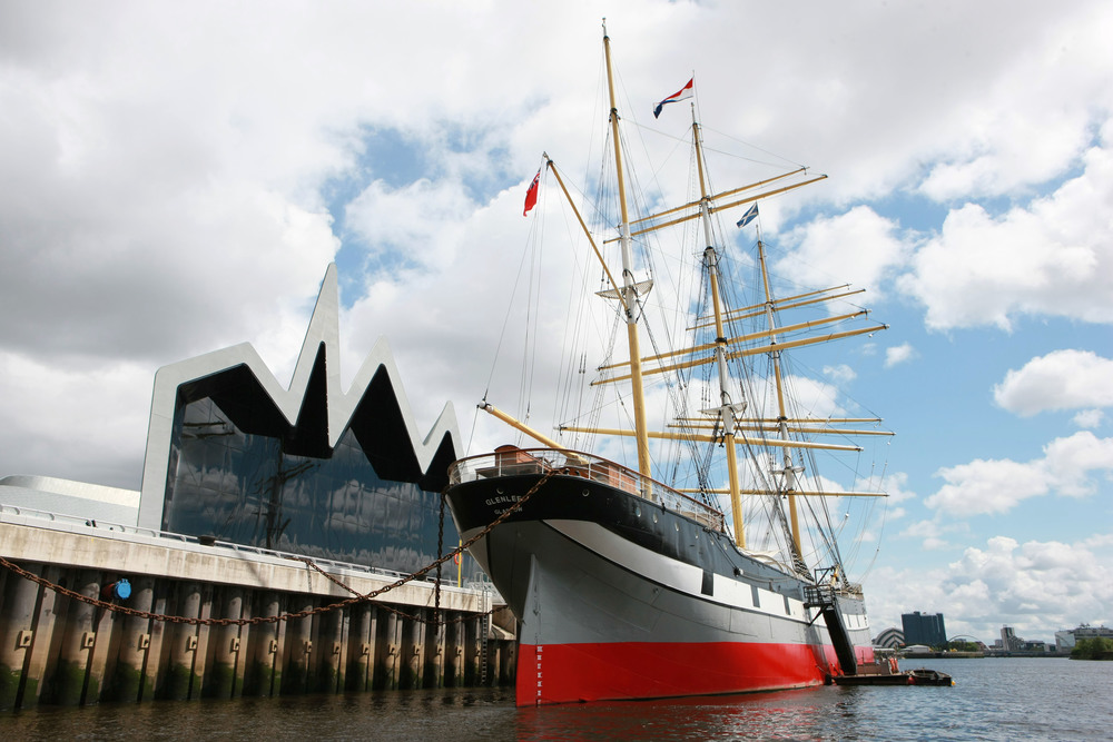 Pic: Tom Finnie, unique venue, tall ship at Riverside, glasgow wedding venue