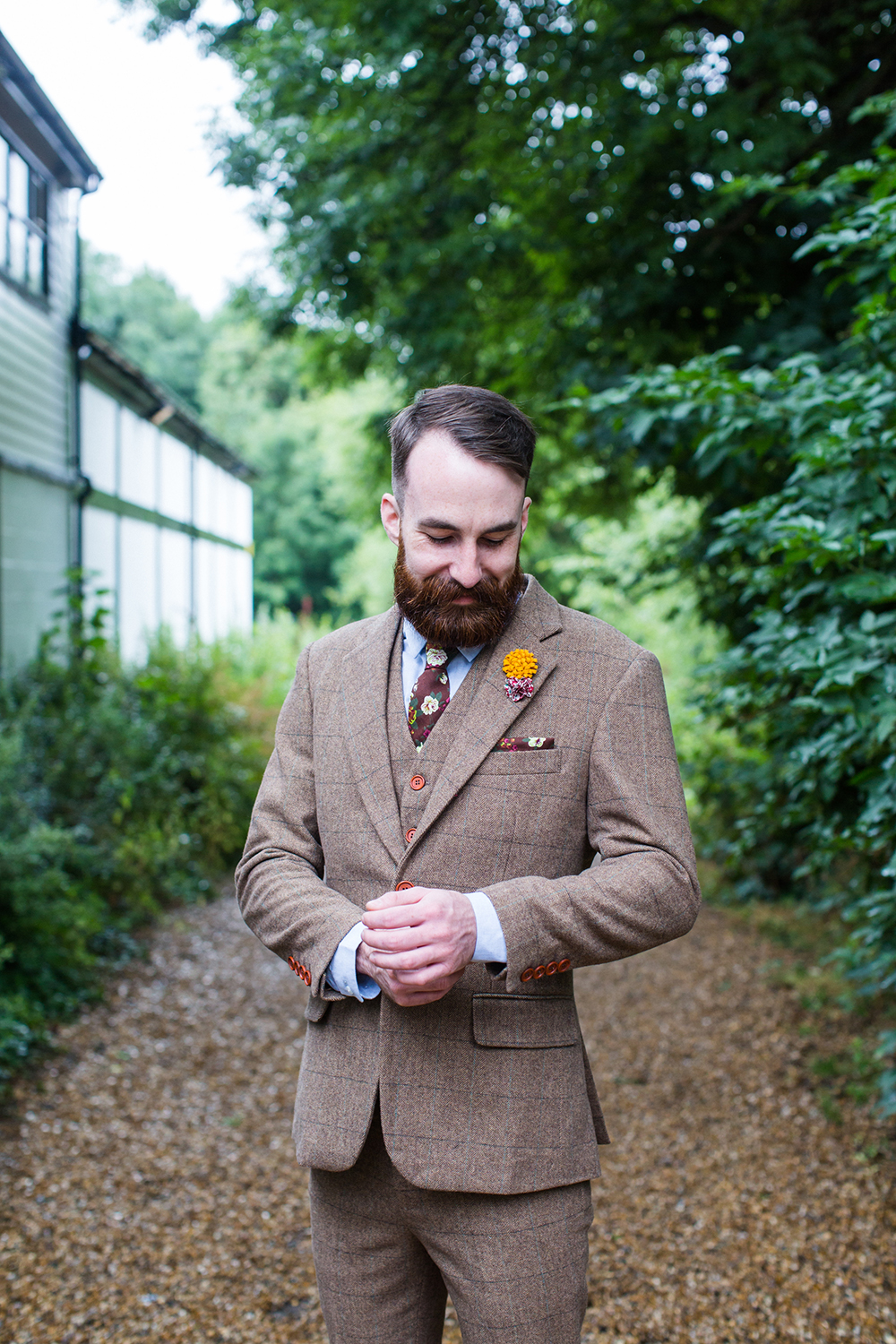 Beautiful vintage style tweed suits by Vintage Suit Hire Co - UK ...