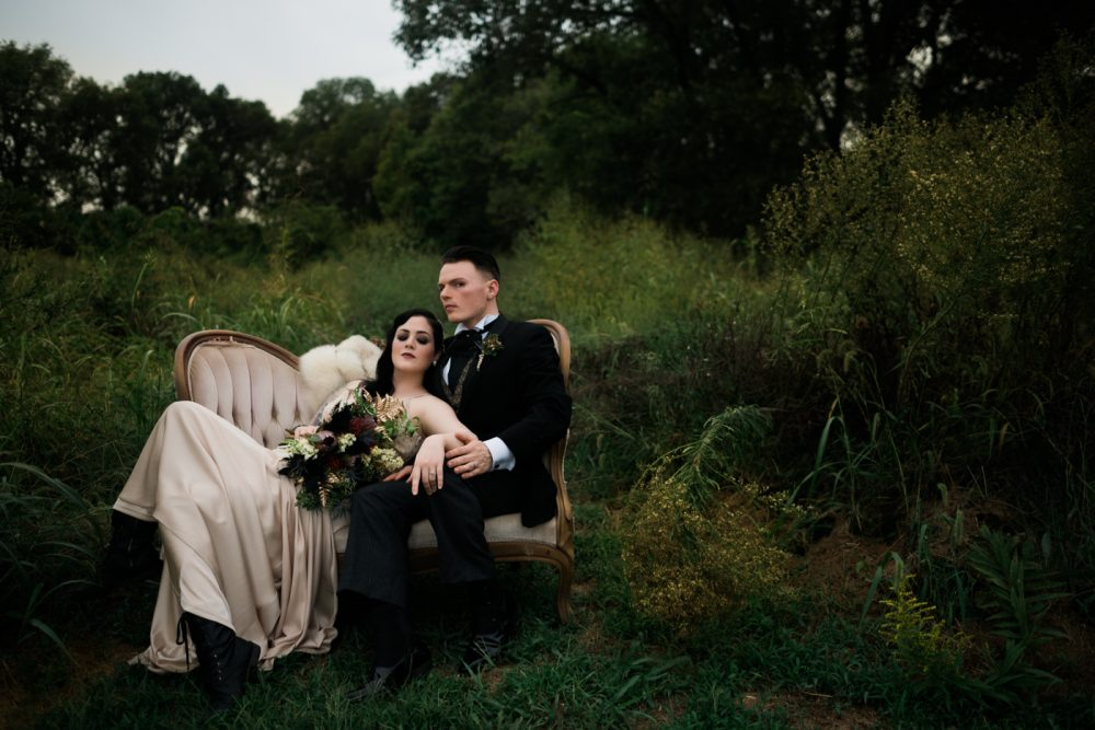 A 1920s And Gothic Inspired Styled Shoot With Glam Spooky
