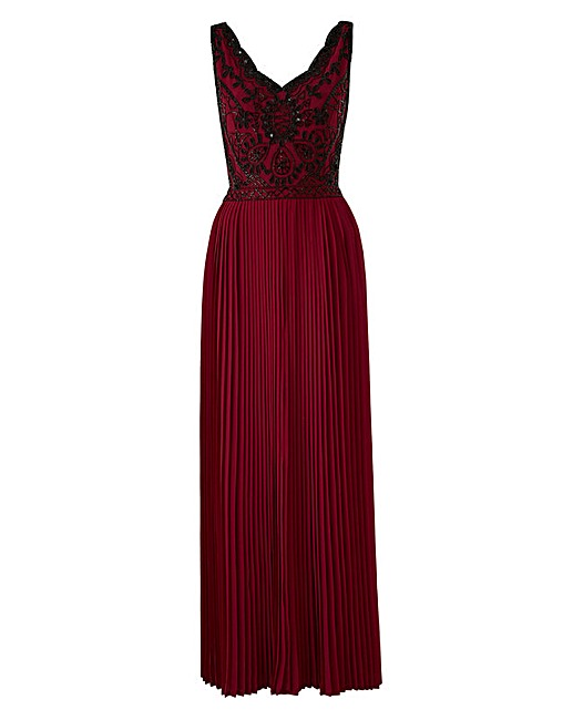 Joanna Hope Beaded Bodice Maxi Dress, simply be