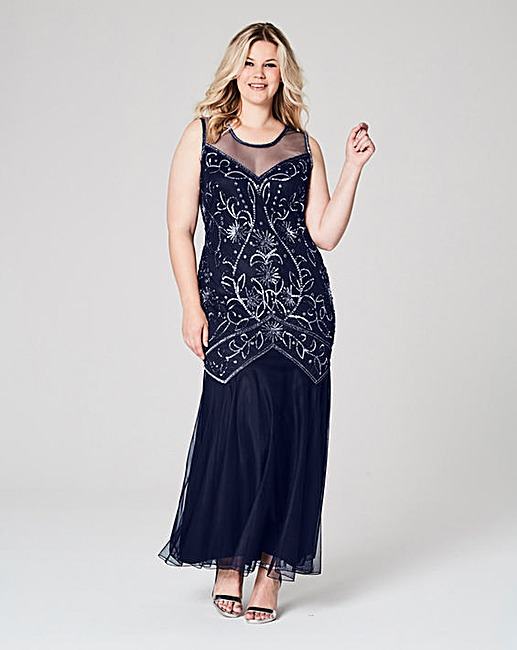 Embellished maxi Dress, Simply Be