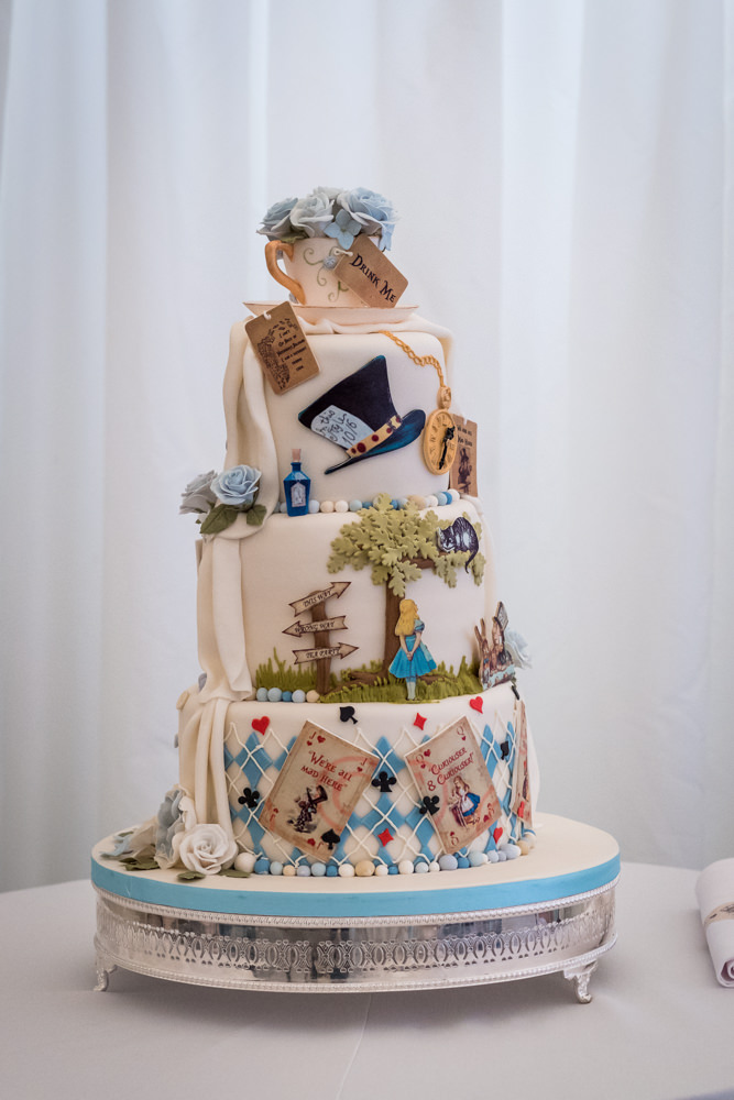 A gorgeous Alice in Wonderland themed Wedding at The Heath ...