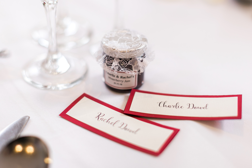 red-and-white-wedding-lancashire-wedding-gibbon-bridge-hotel-in-preston-winter-wedding-jam-table-names-hannah-k-photography-39