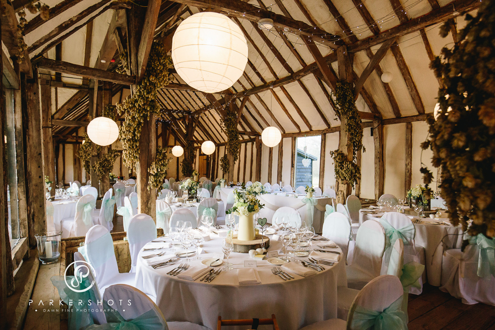 A Rustic Barn Wedding In Kent With Gillian Million Gown