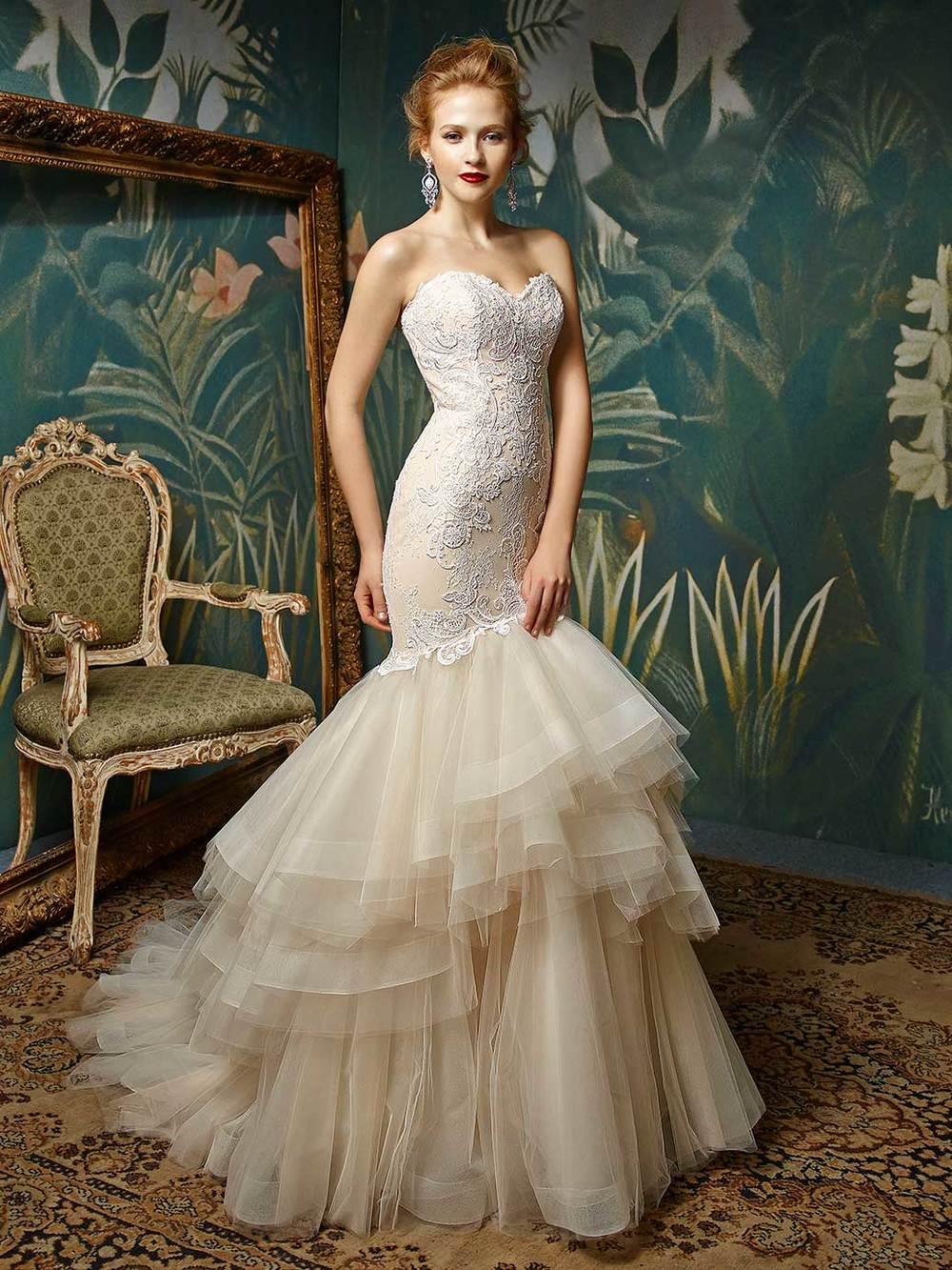Modern Romance Wedding Dress : Enzoani modern romantic collection bridal gowns uk wedding