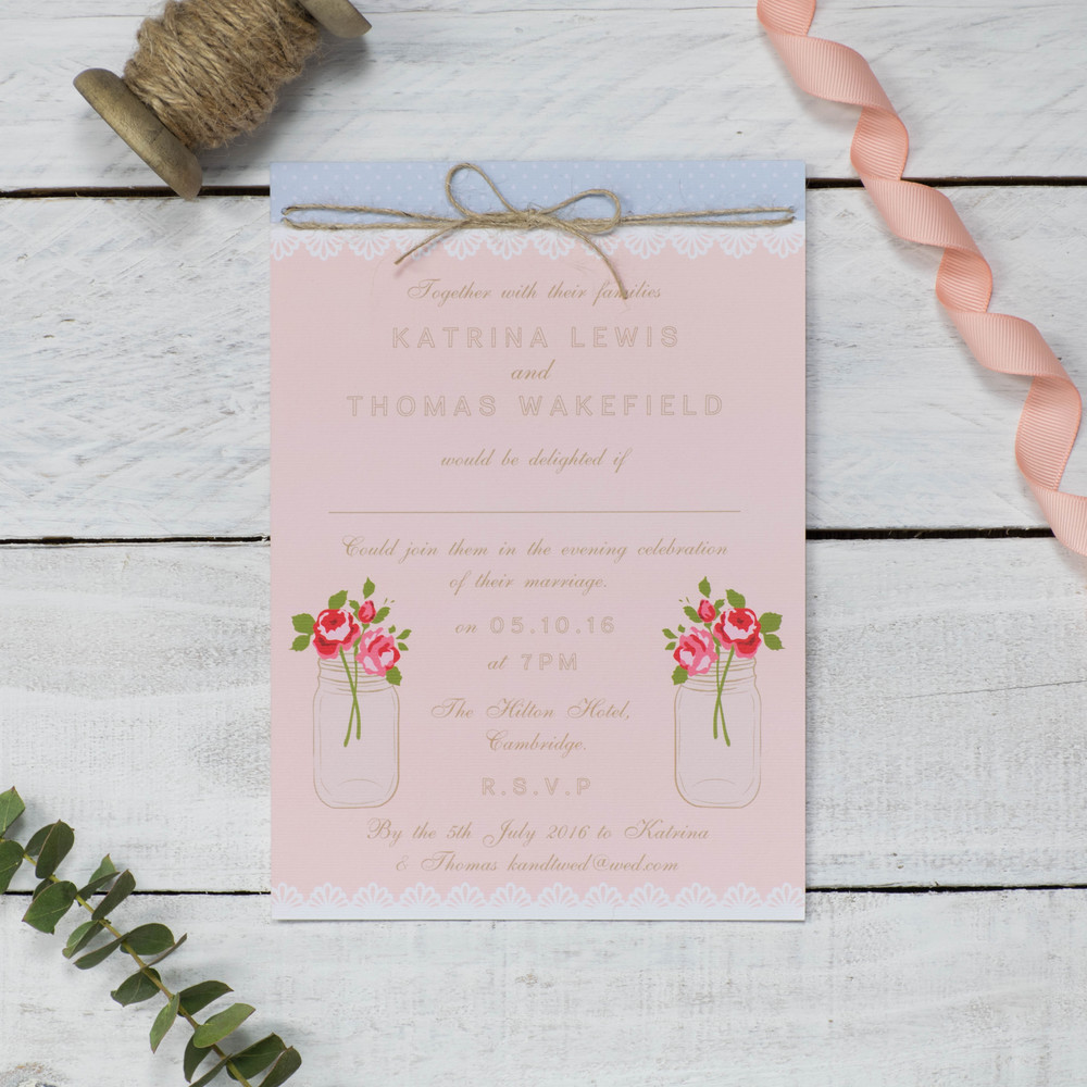 Beautiful rustic inspired wedding stationery from cate darcy rustic love hearts stopboris Choice Image