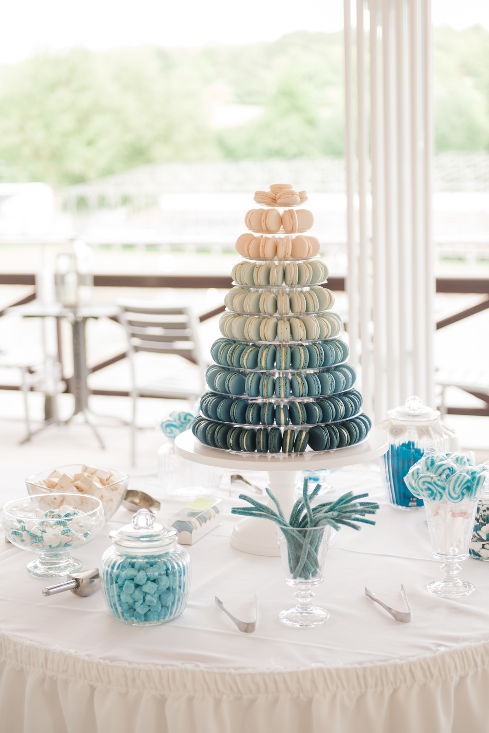 A Pretty Blue & Music inspired Wedding with hints of Star Wars at ...