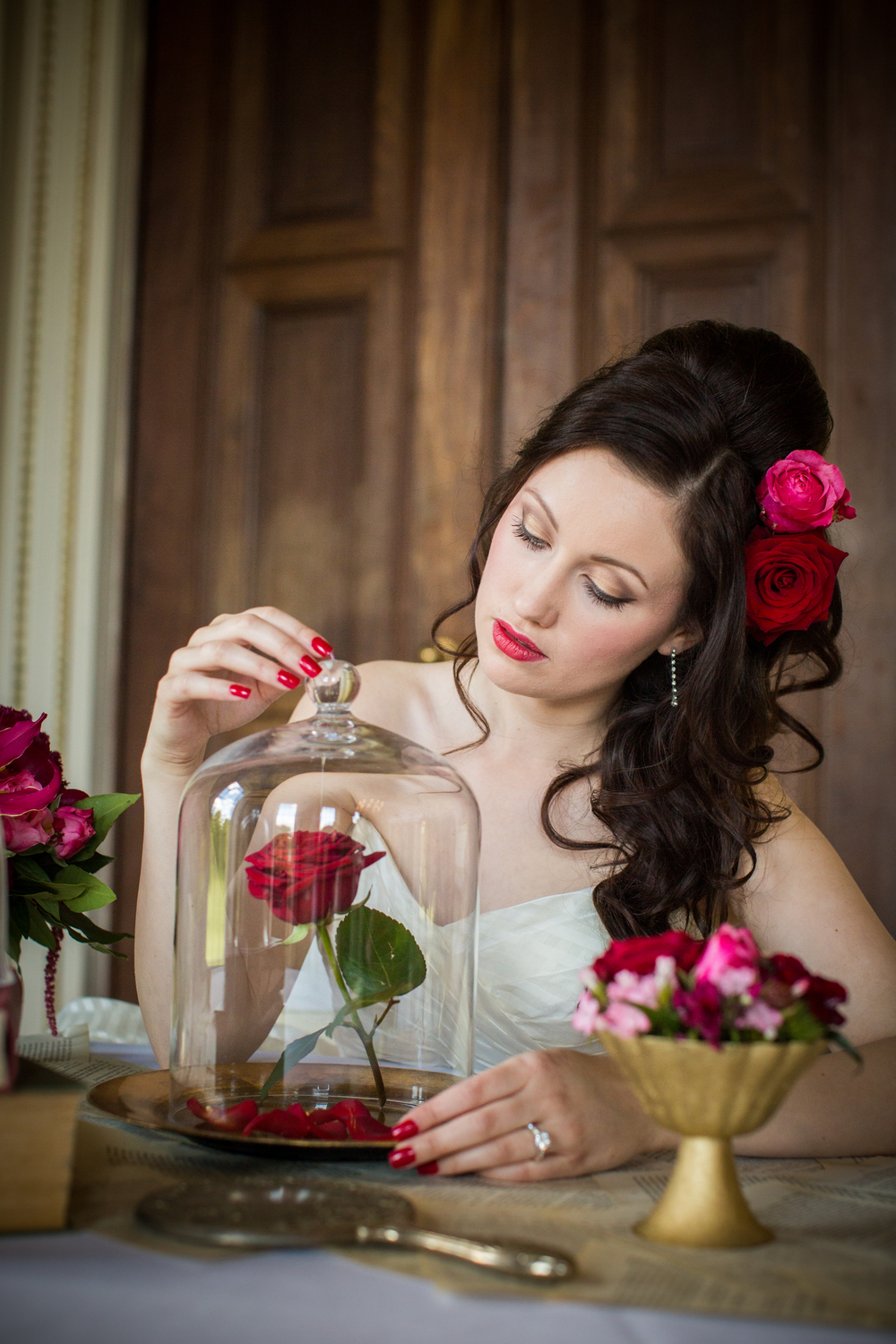 An Enchanting Beauty And The Beast Inspired Wedding Styled Shoot