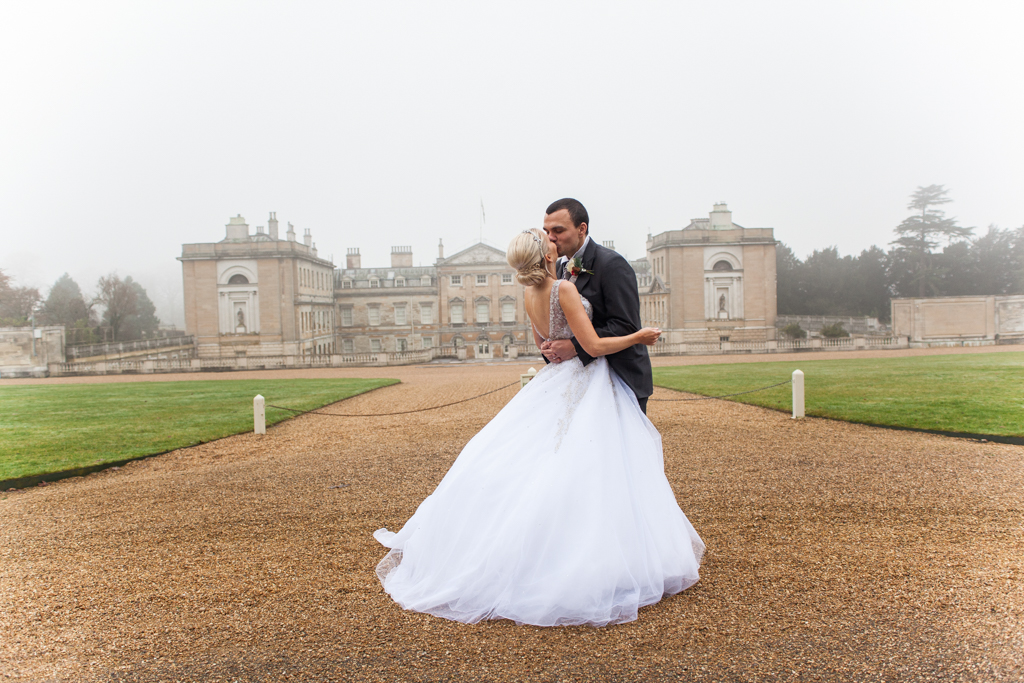 Today I am thrilled to share this gorgeous Winter Wedding at Woburn Abbey Sculpture Gallery with pretty red & white details. Images were captured by Priti ...