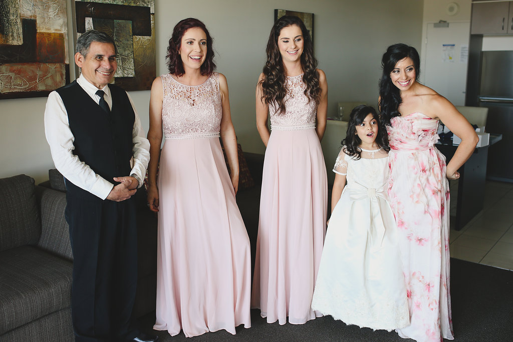 A beautiful Rail Museum Wedding in Queensland with a pretty pink ...
