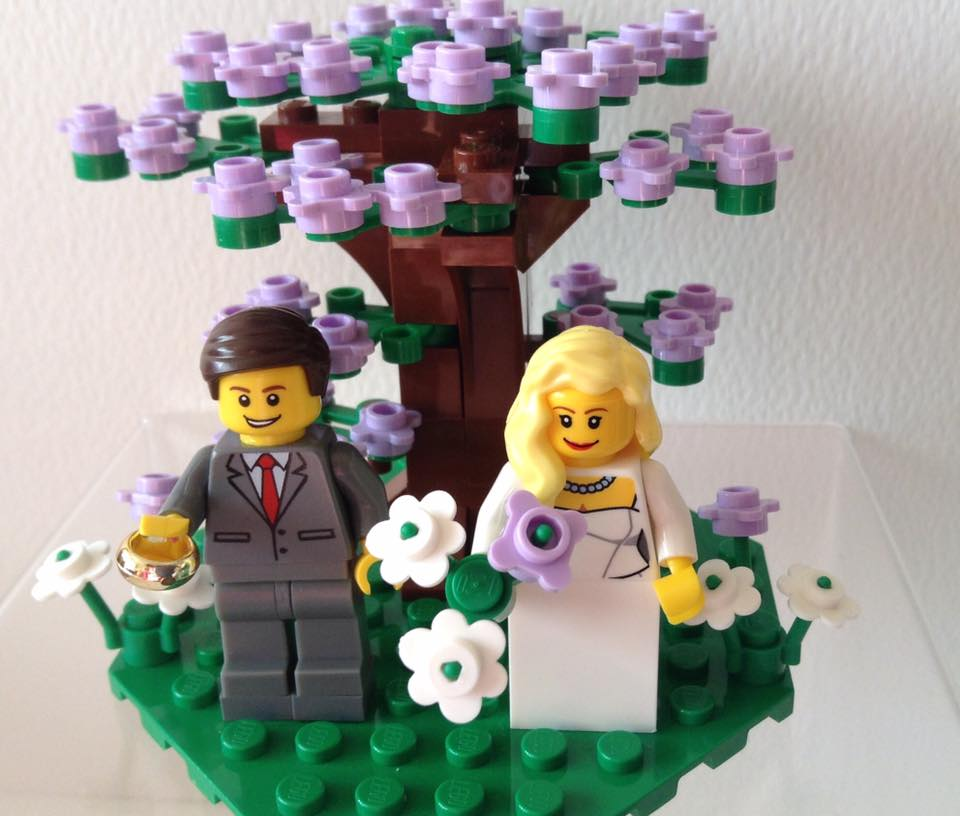 Lego Wedding Cake Toppers Why