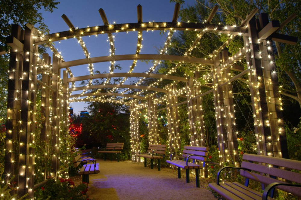 Outdoor Fairy Lighting Illuminating ideas with fairy lights for your wedding uk wedding garden fairy lights workwithnaturefo