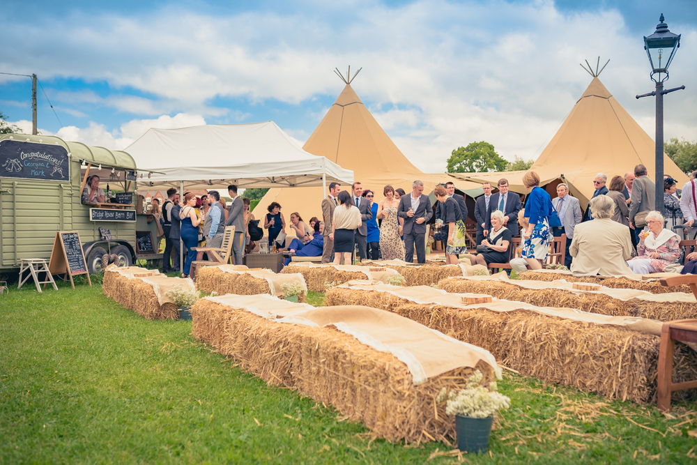 A Beautiful Rustic Tipi Wedding In Leicestershire With Mint Green Amp Cream Details