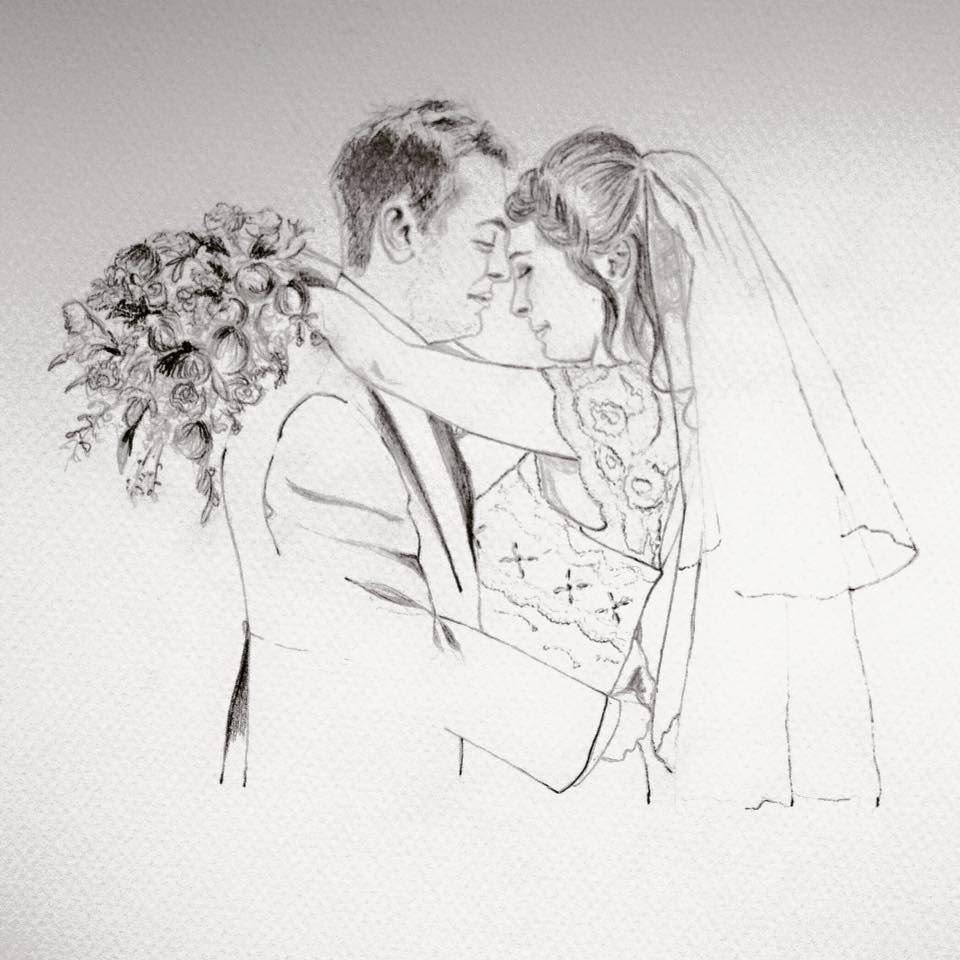 Wedding Drawings: Illustrating Your Memories By Wedding Picture