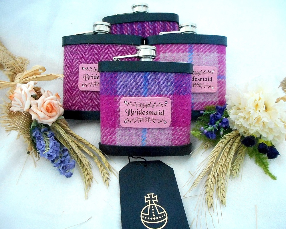 Tweed With A Twist Harris Tweed Gifts For Weddings Uk Wedding