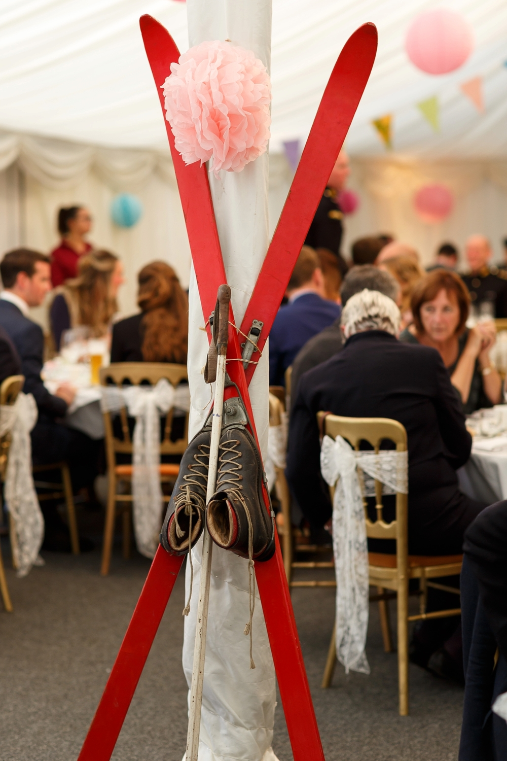 A beautiful Lincolnshire Military Wedding with a Skiing Theme - UK ...