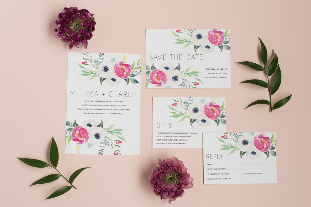 Beautiful Wedding Stationery & Paper Goods from Polka Dot Paper - UK ...