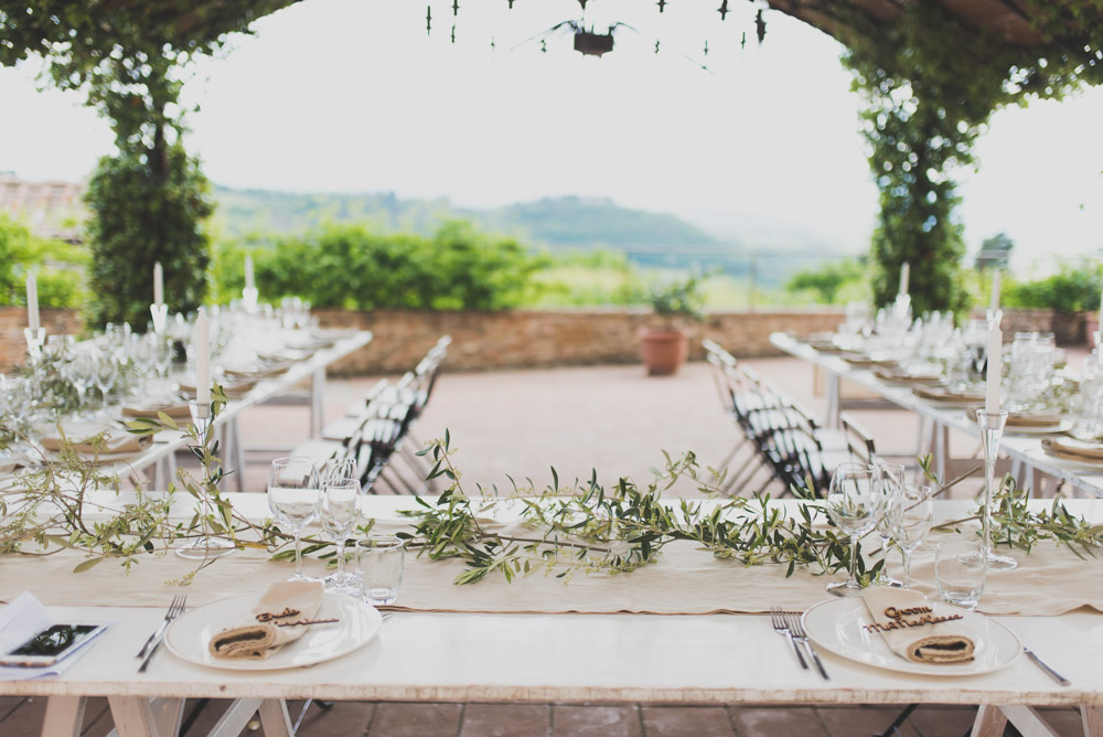 A Beautiful Italian Destination Wedding In Tuscany With A Mori Lee Gown