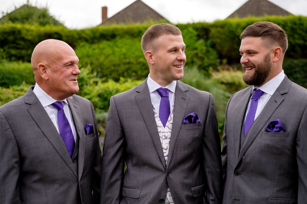 Beautiful Photos Of Purple Wedding Suits Composition - Wedding ...